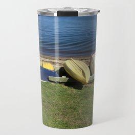 Dinghies on the Bay Travel Mug