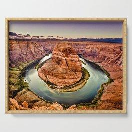 Horseshoe Bend Grand Canyon Arizona Serving Tray