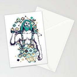 Hephaestus Greek God Stationery Cards