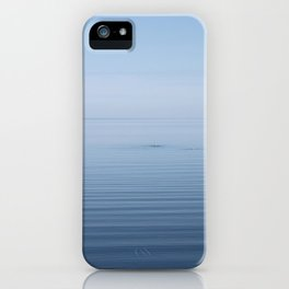 Lake Superior as seen from Grand Marais iPhone Case