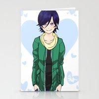 college Stationery Cards featuring College Suzuna by DoubleKuro