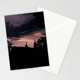 Stormy Night in Montreal Stationery Cards