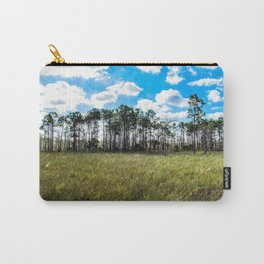 Cypress Trees and Blue Skies Carry-All Pouch