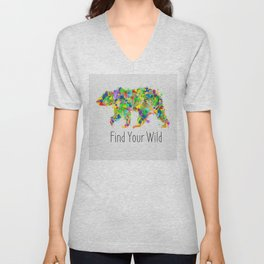 Find Your Wild Unisex V-Neck