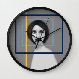 Size Doesn't Matter Wall Clock