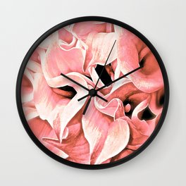 Calla Lily  Wall Clock
