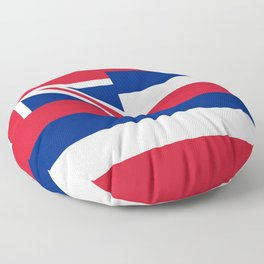 Flag of Hawaii - Hawaiian Flag Floor Pillow