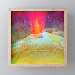 Volcanic Eruption II Framed Mini Art Print