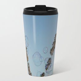 Bubbles & Palm Trees Travel Mug