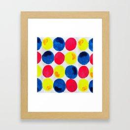 Circle of Colors Framed Art Print