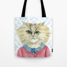 Vernonica Dressed for Luncheon Tote Bag