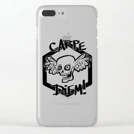 Carpe Diem by Wendy Gilbert Clear iPhone Case