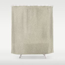 Champagne Sand Glitter Shower Curtain