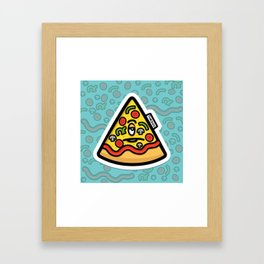 Pizzuminati Framed Art Print