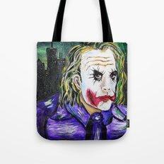 Gotham is Mine - Heath Ledger as The Joker Tote Bag