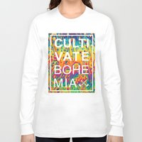 trippy Long Sleeve T-shirts featuring Cultivate trippy by Cultivate Bohemia