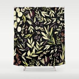 Eucalyptus in Autumn Shower Curtain