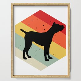 Cane Corso print For Dog Lovers Cute Dog Serving Tray