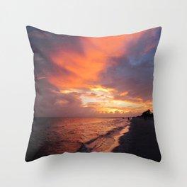 Sensational Sanibel Sunset Throw Pillow