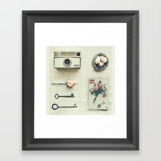Yesteday's Gone Framed Art Print