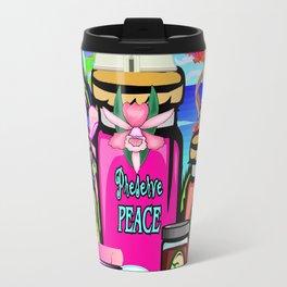 Preserve Life, Preserve Peace, Preserve Love Travel Mug