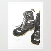 Doc Mart Art Print