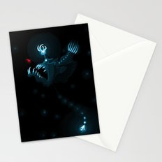 Devil of the Deep Stationery Cards