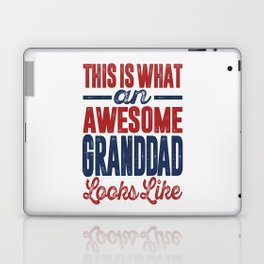 Gift for Granddad Laptop & iPad Skin