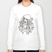art nouveau Long Sleeve T-shirts featuring Art Nouveau by Sweeney Boo