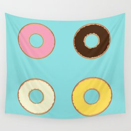 Four Doughnuts Wall Tapestry