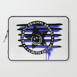 Grunge urban smiley Laptop Sleeve