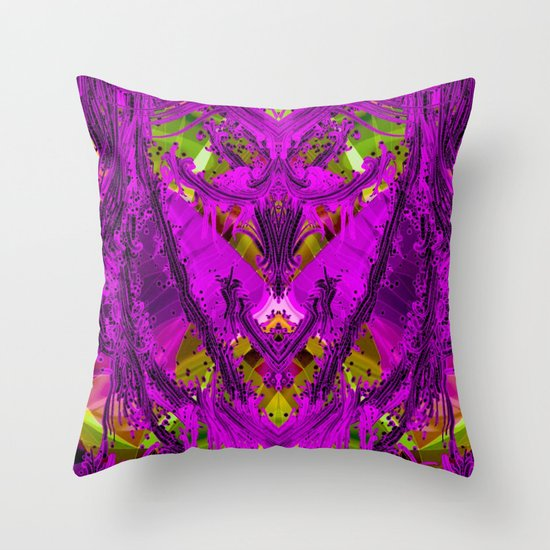 Abstract Flash,colorful Throw Pillow