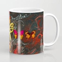 Red Fire Cross Coffee Mug