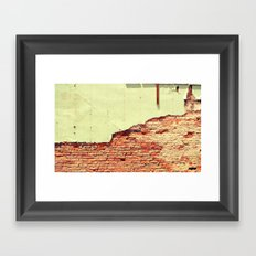 Breaking Through Framed Art Print