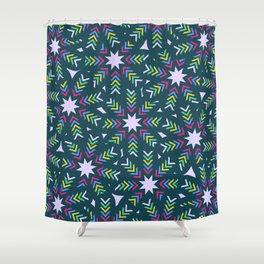 Christmas wreath-evergreen Shower Curtain