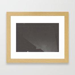 Forced Night Framed Art Print