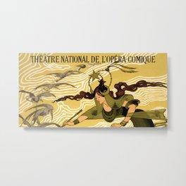 Cendrillon, Théâtre National de l'Opéra-Comique, Paris Metal Print
