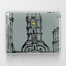 Little City Hall Sketch Laptop & iPad Skin