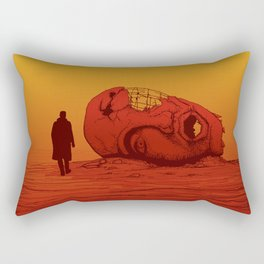 THE WASTELAND - BLADE RUNNER 2049 Rectangular Pillow
