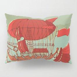 Airship Fantasy Pillow Sham