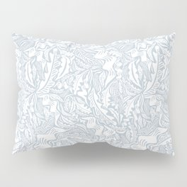 Folk Leaves Pillow Sham