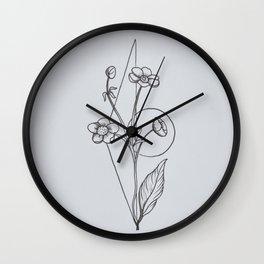 Axial Wall Clock