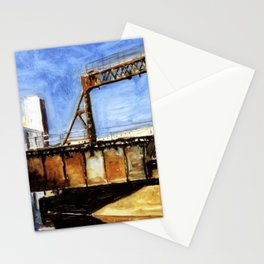 Railway Bridge Five Roses reflected II Stationery Cards
