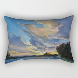 The Road to Sunset Beach Rectangular Pillow