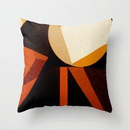 Jaburu (Jabiru) Throw Pillow