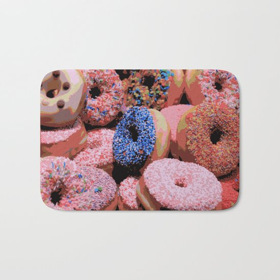 Donuts - JUSTART © Bath Mat