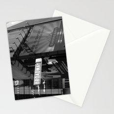 Broadway & W42nd St Stationery Cards