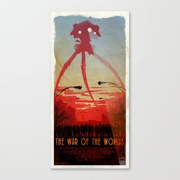 Movie Poster Inspired : The War of the Worlds Canvas Print
