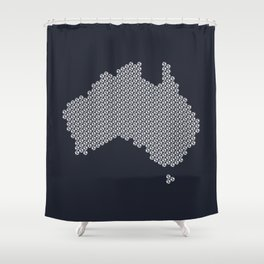 Football Nation Shower Curtain