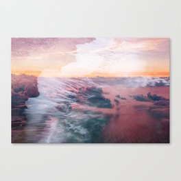 Wave of Passion Canvas Print